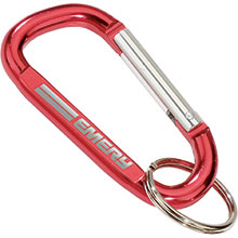 Small Carabiner with Split Ring