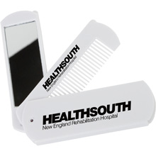 Folding Comb With Mirror
