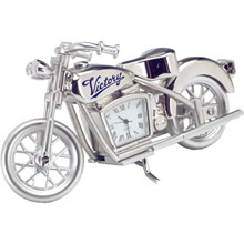 Die Cast Motorcycle Clock