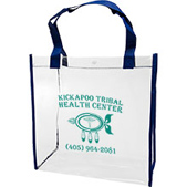 Clear PVC Tote Bag