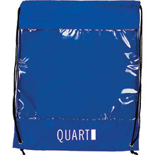 Backpack with Clear Safety Window