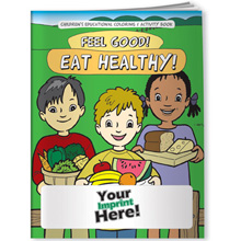 Coloring Book - Food & Nutrition, Feel Good! Eat Healthy!