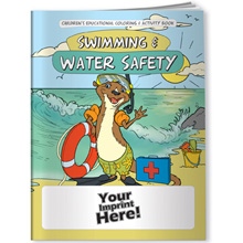 Coloring Book - Swimming & Water Safety