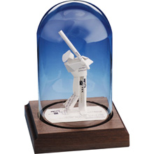 Baseball Player Business Card Sculpture