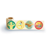 Fun Sticker Roll - Active is Healthy