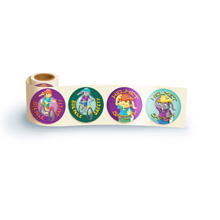 Fun Sticker Roll - Bicycle Safety