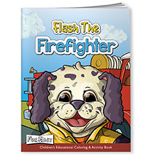 Coloring Book with Mask - Fire, Flash the Firefighter