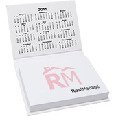 Hard Cover Noteholder with Calendar